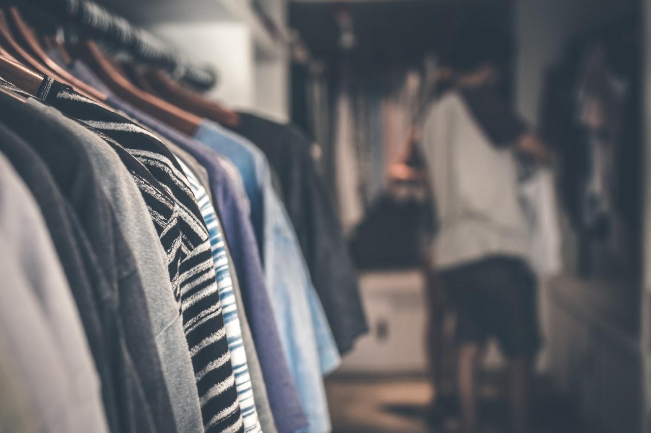 Odświeżanie garderoby - czyli porządki